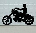 Biker Buddies Motorcycle Shadow Pattern