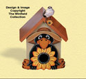 Crow Birdhouse Woodcraft Pattern
