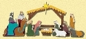 Simple Nativity Pattern