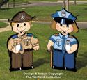 Dress-Up Darlings Police Pals