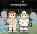 Dress-Up Darlings Tennis Outfits Pattern