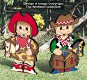Dress-Up Darlings Cowboy & Cowgirl Outfits Pattern