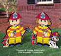 Dress-Up Darlings Firefighter Outfits Pattern