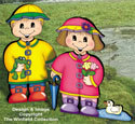 Dress-Up Darlings Spring Shower Outfits Pattern