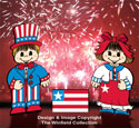 Dress-Up Darlings Patriotic Parade Outfits Pattern