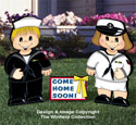 Dress-Up Darlings Navy Outfits Pattern
