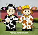 Dress-Up Darlings Cutest Cows Outfits Pattern
