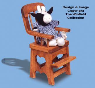 High Chair Woodcraft Pattern