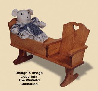 Nanny Bench Woodcraft Pattern