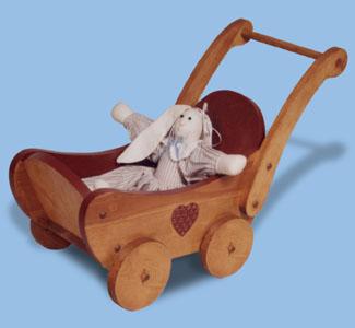 Bear Buggy Woodcraft Pattern