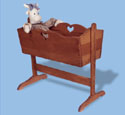 Country Cradle Woodcraft Pattern