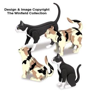 Desk Cats Pattern