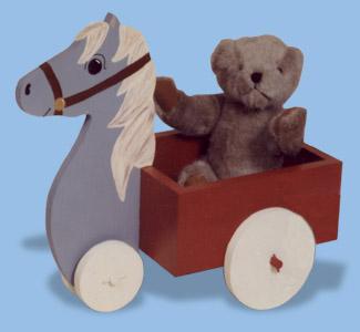 Horse Cart Woodcraft Pattern