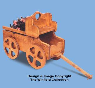 Hay Wagon Woodcraft Pattern