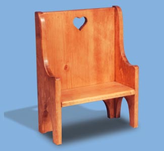 Hall Seat Woodcraft Pattern