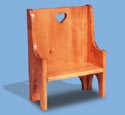Hall Seat Woodcraft Pattern