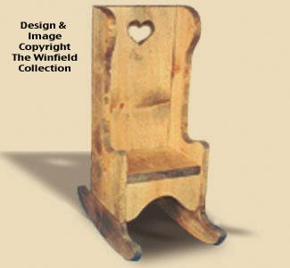 Rocking Chair Woodcraft Pattern