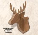 Pallet Wood Deer Mount Pattern