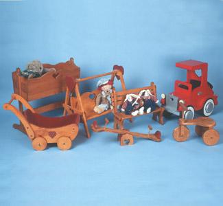 Doll Furniture Pattern Set #3
