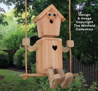 Tree Swinger Birdhouse Pattern