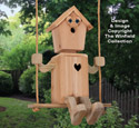 Tree Swinger Birdhouse Pattern