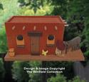 Southwest Pueblo Birdhouse Pattern