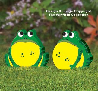 Fat Garden Frogs Pattern