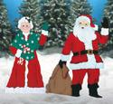 Santa & Mrs. Claus Pattern Combo
