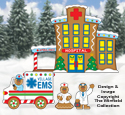 Gingerbread Hospital Pattern