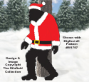 Bigfoot Santa Coat & Hat