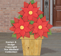Pallet Wood Poinsettia