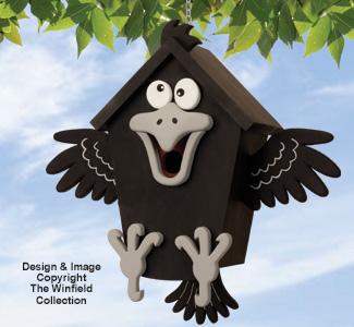Krafty Krow Birdhouse Pattern