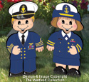 Dress-Up Darlings Coast Guard Outfits Pattern