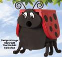 Lucky Ladybug  Birdhouse