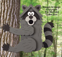 Climbing Raccoon Birdhouse Pattern