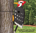 Wacky Woodpecker Birdhouse Pattern