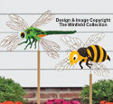 Dragonfly & Bee Whirligig Project Plans