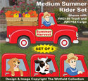 Medium Summer Rider Pattern Set
