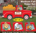 Medium Fall Rider Pattern Set - Downloadable