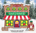 Gingerbread Hardware Store Woodcraft Pattern