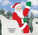 GINORMAS Santa Woodcraft Pattern