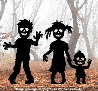 Child Zombie Woodcraft Pattern