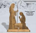 Pallet Wood Nativity Woodcraft Pattern