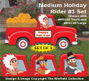 Medium Size Holiday Rider #3 Pattern Set - Downloadable