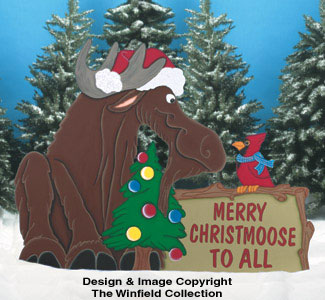All christmas christmoose sign wood pattern for Christmas outdoor decoration patterns