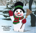 Yard Frosty Woodcraft Pattern