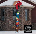 Helping Santa Woodcrafting Pattern