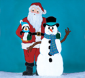 Christmas Friends Woodcrafting Pattern