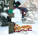 Snowman Crash Woodcraft Pattern