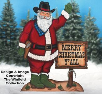 Santa amp Elves Cowboy II Woodcraft Pattern